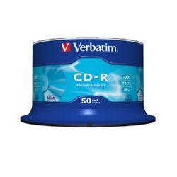 Verbatim CD-R Extra Protection CD-R 700MB 50stuk(s)