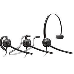 Plantronics HW540D Headset oorhaak, Hoofdband, Neckband Zwart