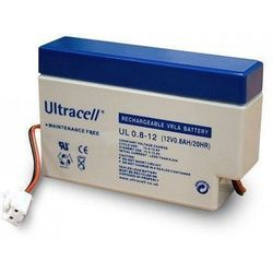 MicroBattery 9.6Wh Lead Acid Battery 12V 0.8Ah UL0.8-12 Connection, type JST male