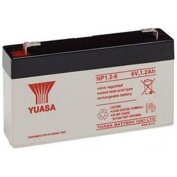 MicroBattery 15.6Wh Lead Acid Battery 12V 1.3Ah UL1.3-12 Connection, type Faston (4.8mm)
