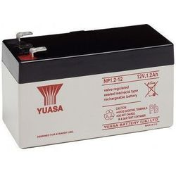 MicroBattery 14.4Wh Lead Acid Battery 12V 1.2Ah NP1.2-12