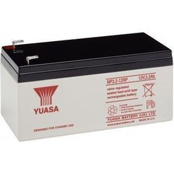 MicroBattery 38.4Wh Lead Acid Battery 12V 3.2Ah NP3.2-12 Connection, type Faston (4.8mm)