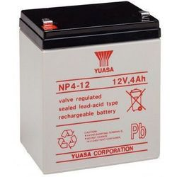MicroBattery 48Wh Lead Acid Battery 12V 4Ah NP4-12 Connection, type Faston (4.8mm)