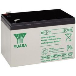 MicroBattery 144Wh Lead Acid Battery 12V 12Ah RE12-12 Connection, type Faston (6.35mm)
