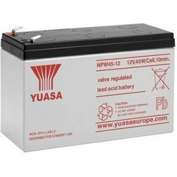 MicroBattery 102Wh Lead Acid Battery 12V 8.5Ah NPW45-12 Connection, type Faston (6.35mm)