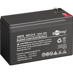 MicroBattery 108Wh Lead Acid Battery 12V 9Ah GO12-9 Connection, type Faston (4.8mm)