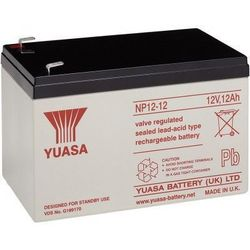 MicroBattery 144Wh Lead Acid Battery 12V 12Ah NP12-12 Connection, type Faston (4.8mm)
