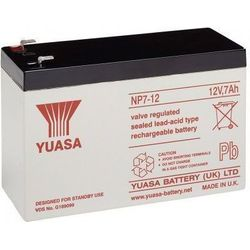 MicroBattery 84Wh Lead Acid Battery 12V 7Ah NP7-12 Connection, type Faston (4.8mm)