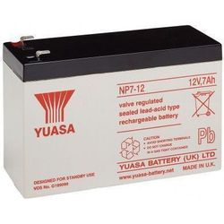 MicroBattery 84Wh Lead Acid Battery 12V 7Ah NP7-12L Connection, type Faston (4.35mm)