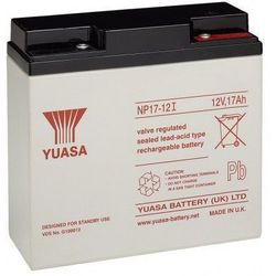 MicroBattery 204Wh Lead Acid Battery 12V 17Ah NP17-12I Connection, type Thread (M5)
