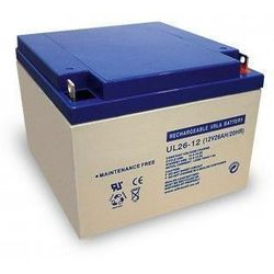 MicroBattery 312Wh Lead Acid Battery 12V 26Ah UC26-12 Connection, type Thread (M5)