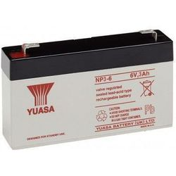 MicroBattery 18Wh Lead Acid Battery 6V 3Ah NP3-6 Connection, type Faston (4.8mm)