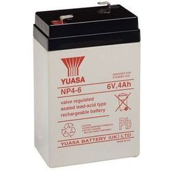 MicroBattery 24Wh Lead Acid Battery 6V 4Ah NP4-6