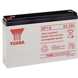 MicroBattery 42Wh Lead Acid Battery 6V 7Ah NP7-6 Connection, type Faston (4.8mm)