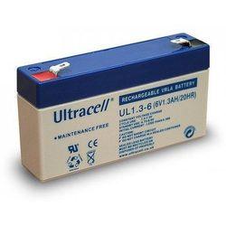 MicroBattery 7.8Wh Lead Acid Battery 6V 1.3Ah UL1.3-6