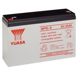 MicroBattery 60Wh Lead Acid Battery 6V 10Ah NP10-6 Connection, type Faston (4.8mm)