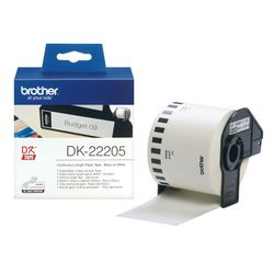 Brother Doorlopende papiertape 62 mm labelprinter-tape