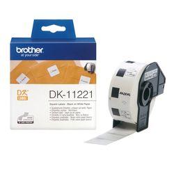 Brother Vierkant papieren label 23 mm