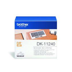 Brother DK-11240 printeretiket Wit