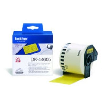 Brother DK-44605 Continuous Removable Yellow Paper Tape
