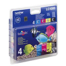 Brother Kit: 4x Inktcartridges inktcartridge