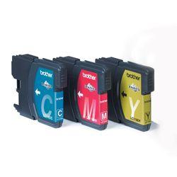 Brother Voordeelverpakking LC-1100C, M, Y Cyaan, magenta