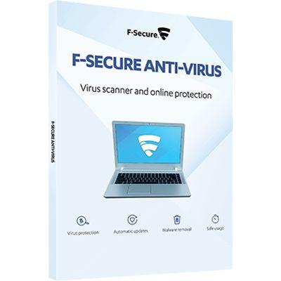 F-SECURE Anti-Virus Volledige licentie 2 jaar Meertalig