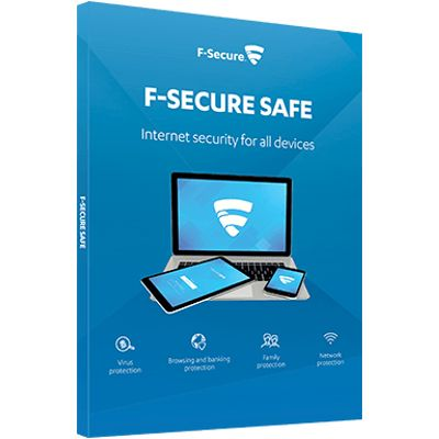F-SECURE Safe Volledige licentie 1 jaar Meertalig