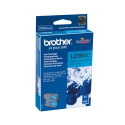 Brother LC980C BROTHER DCP145C TINTE CYAN-LC980C