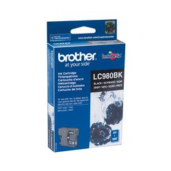 Brother LC980BK BROTHER DCP145C TINTE Zwart-LC980BK