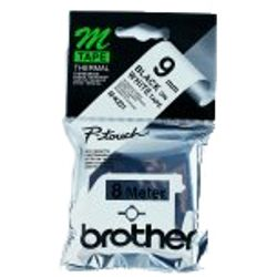 Brother M-K221B Zwart op wit M labelprinter-tape