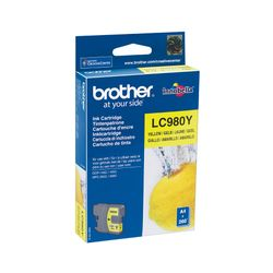 Brother LC980Y BROTHER DCP145C TINTE Geel-LC980Y