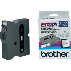 Brother TX-251 Zwart op wit TX labelprinter-tape