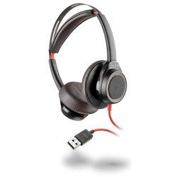 Plantronics Blackwire 7225 Headset Hoofdband Zwart, Rood