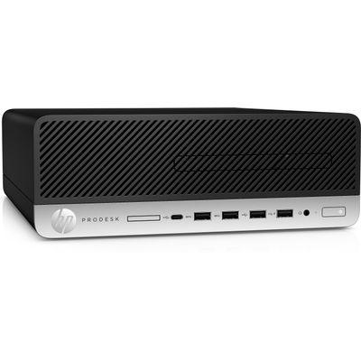 HP ProDesk 600 G5 i5-9500 SFF Intel® 9de generatie Core™ i5 8 GB DDR4-SDRAM 256 GB SSD Windows 10 Pro PC Zwart