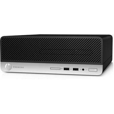 HP ProDesk 400 G6 i3-9100 SFF Intel® 9de generatie Core™ i3 8 GB DDR4-SDRAM 256 GB SSD Windows 10 Pro PC Zwart