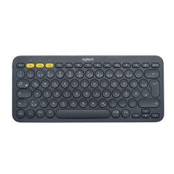 Logitech K380 Multi-Device toetsenbord Bluetooth QWERTZ Duits Grijs