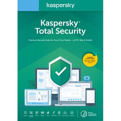 Kaspersky Lab Total Security 2020 1 licentie(s) 1 jaar