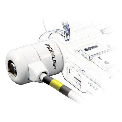 Mobilis Corporate Key kabelslot Wit 1,8 m