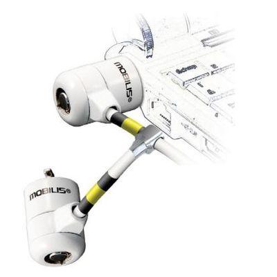 Mobilis 001223 kabelslot Wit 1,8 m