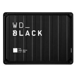 Western Digital P10 Game Drive externe harde schijf 5000 GB Zwart