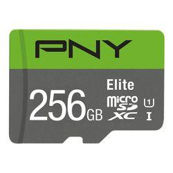 PNY Elite flashgeheugen 256 GB MicroSDXC Klasse 10 UHS-I