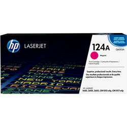 HP 124A originele magenta LaserJet tonercartridge