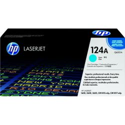 HP 124A originele cyaan LaserJet tonercartridge
