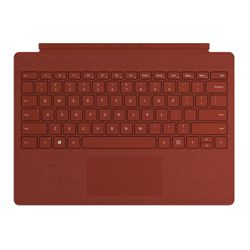 Microsoft Surface Pro Signature Type Cover Rood Microsoft Cover port AZERTY Belgisch
