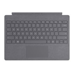 Microsoft Surface Pro Signature Type Cover Houtskool Microsoft Cover port AZERTY Belgisch