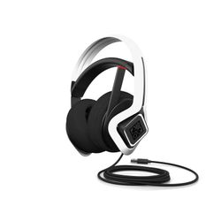 HP 6MF36AA Headset Hoofdband Wit
