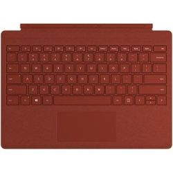 Microsoft Surface Pro Signature Type Cover toetsenbord voor mobiel apparaat QWERTY Engels Rood