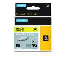 DYMO 18052 labelprinter-tape Zwart op geel