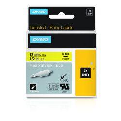 DYMO 18056 labelprinter-tape Zwart op geel